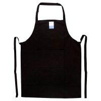 essential Waitrose black apron