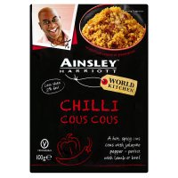 Ainsley Harriott chilli couscous