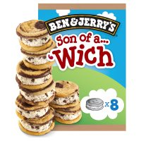 Ben & Jerry's Son of a 'Wich 8s