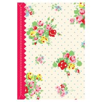 Cath Kidston journal yellow floral