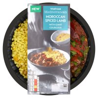 Waitrose Mediterranean Spiced Lamb with Couscous