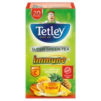 Tetley Super Green Tea Immune 20 Tea Bags