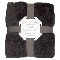Deyong's Snuggle Touch Throw Charcoal
