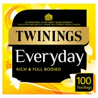 Twinings everyday 100 tea bags