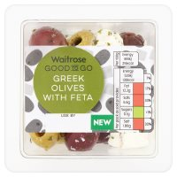 Waitrose GTG Greek Olives with Feta