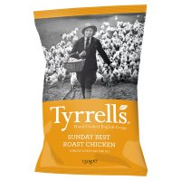 Tyrrell's chicken & tarragon potato chips