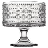 Waitrose Bobble Clear Trifle Bowl