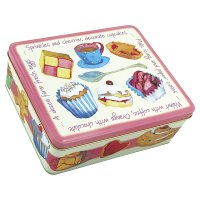 Emma Ball teatime rectangle tin