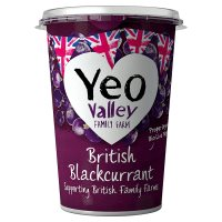 Yeo Valley British Blackcurrant yogurt