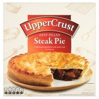 McDougalls upper crust steak pie