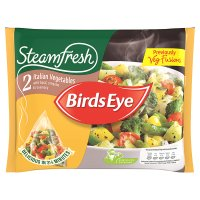 Birds Eye steamfresh Italian vegetables with basil & rosemary frozen
