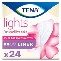Lights by Tena liners.