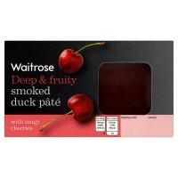 Waitrose smoked duck pâté