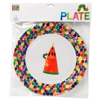 The Very Hungry Caterpillar Paper Plates (8 per pack)