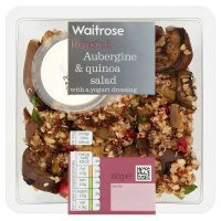 Waitrose Roasted Aubergine & Quinoa Salad