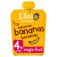 Ella's Kitchen Organic first tastes bananas bananas bananas baby food
