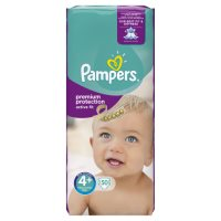 Pampers Active Fit Sz 4 Large 50 Nappies