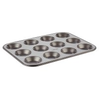 Waitrose Cooking Non-Stick 12 Hole Baking Pan