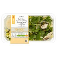 Waitrose LoveLife Cauliflower Couscous Herby Chicken Salad