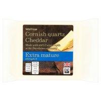 Waitrose Cornish Quartz Cheddar Extra Mature.
