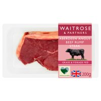 Waitrose Aberdeen Angus beef rump steak