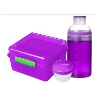 Sistema Lunch Cube Max & Trio Bottle
