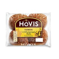 Hovis British farmers wholemeal rolls