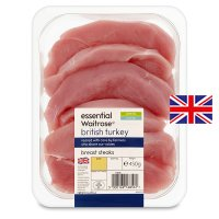 essential Waitrose British turkey breast steaks