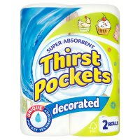 Thirst Pockets limited edition kitchen towels