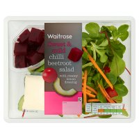 Waitrose chilli beetroot salad with creamy lemon dressing