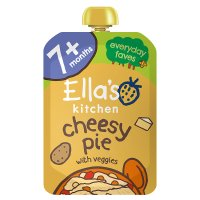 Ella's Kitchen Organic big smiles cheesy pie with veggies - stage 2  baby food