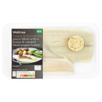 Waitrose Plaice Fillets with Lemon&Pepper Butter