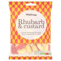 Waitrose rhubard & custard