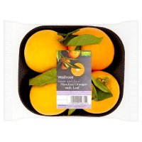 Waitrose Oranges with Leaf
