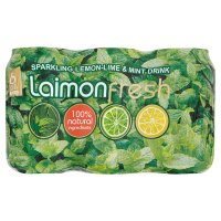 Laimon fresh lemon-lime & mint drnk