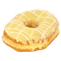Lemon Iced Ring Doughnut