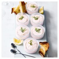 Waitrose poached salmon mousse