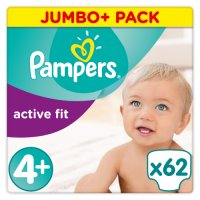 Pampers Active Fit 4+ 9-18kg