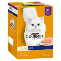 GOURMET® Gold Senior Cat Pate Selection Wet Food Can