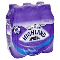 Highland Spring, spring still water, 6 pack