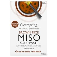Clearspring organic miso instant soup paste with sea vegetables