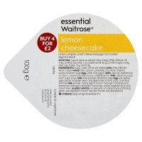 essential Waitrose lemon cheesecake