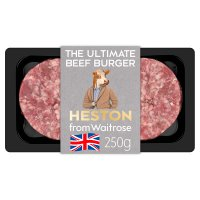Heston 2 Ultimate Beef Burgers