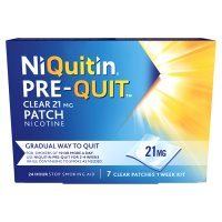 Niquitin clear 21mg patch