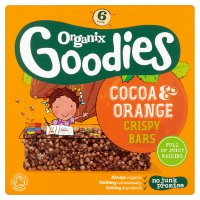 Organix Goodies Cocoa & Orange Bars