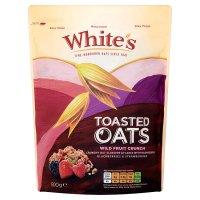 White's Toasted Oats wild fruit crunch
