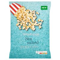 Waitrose Sea Salted Popcorn