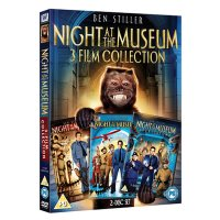 DVD Night At The Museum 1 - 3