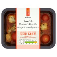 Waitrose LoveLife Calorie Controlled tomato & rosemary chicken