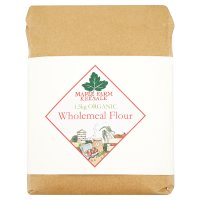 Maple Farm Organic wholemeal flour